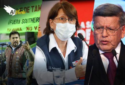 noticias arequipa pilar mazetti peru coronavirus elecciones 2021 pena de muerte tia maria acuña