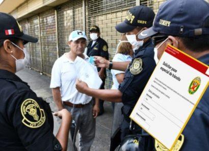 Covid-19: PCM anuncia regreso de pase laboral para regiones con cuarentena estricta