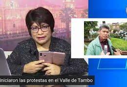Pico a pico: Inician protestas por el proyecto Tía María