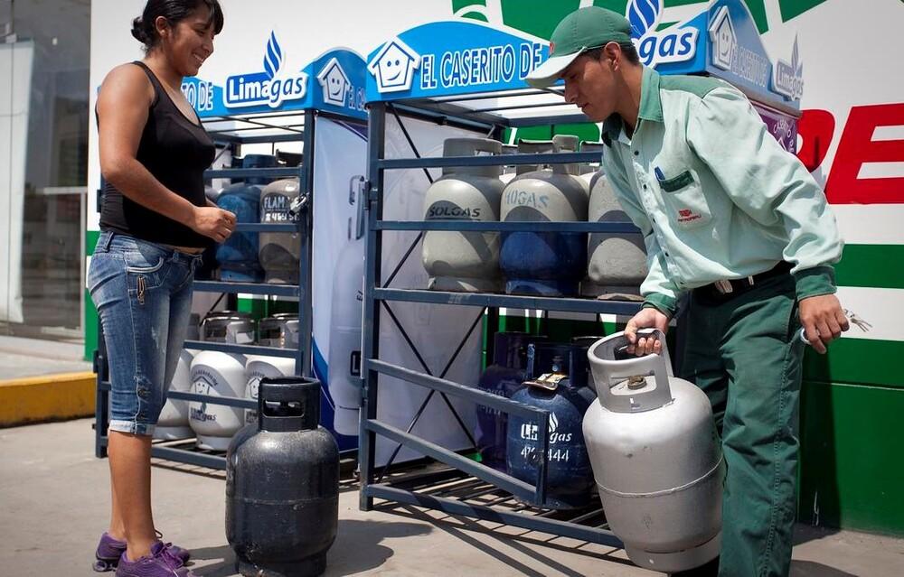 Precio de gas en Arequipa