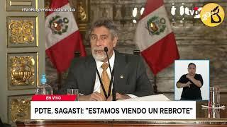 Presidente Francisco Sagasti anuncia nuevas medidas del gobierno ante segunda ola de la covid-19