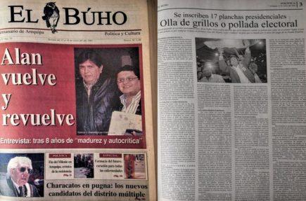 #Hace20Años 17 candidatos presidenciales a elecciones 2001: olla de grillos o pollada electoral