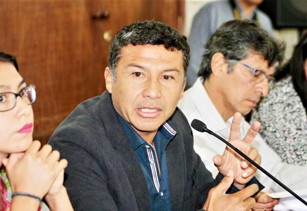 Consejero regional de Arequipa, Ysrael Zúñiga.