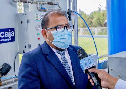 Alcalde de Arequipa pide al gobierno que le permitan gestionar vacunas de China