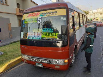 Municipalidad Arequipa amplía horario de buses y taxis y pasa por encima del toque de queda