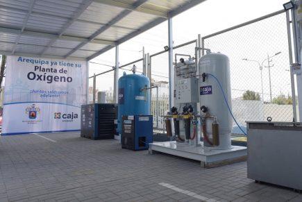 Arequipa: Recargarán oxígeno medicinal gratis a población en situación de pobreza