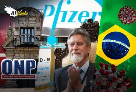 Perú firmó contrato con Pfizer por 20 millones de vacunas |  Al Vuelo Noticias