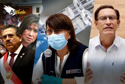 Mazzetti sí se vacunó contra la covid-19 y pide perdón al pueblo peruano |  Al Vuelo