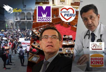 Vacunagate: Martín Vizcarra suma 7 denuncias constitucionales| Al Vuelo