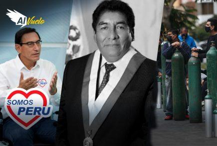 Hipólito Chaiña y sus últimas palabras: !Juntos acabaremos con esta pandemia!