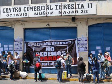 Arequipa: Así fue el primer día de cuarentena para comerciantes [FOTOS]