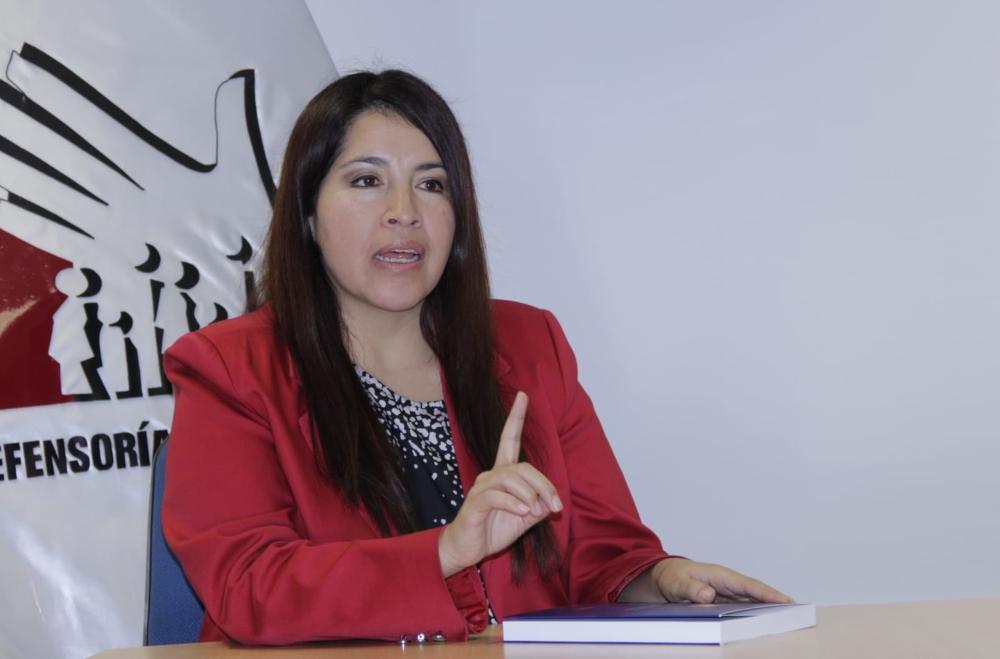 La representante de la Defensoría del Pueblo, Alicia Abanto, indicó que los gobierno regionales son clave para invertir en la generación de oxígeno.