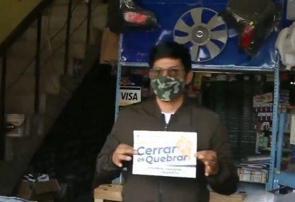 Con carteles, marchas y posible paro,  regiones protestan contra cuarentena