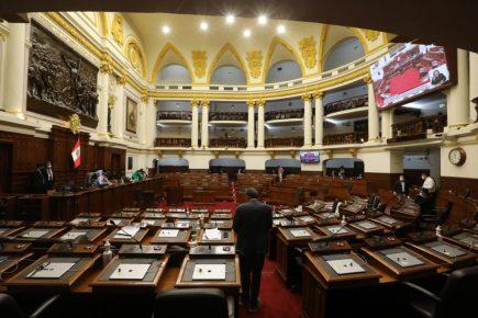 Congreso aprueba eliminación de la inmunidad parlamentaria en segunda votación