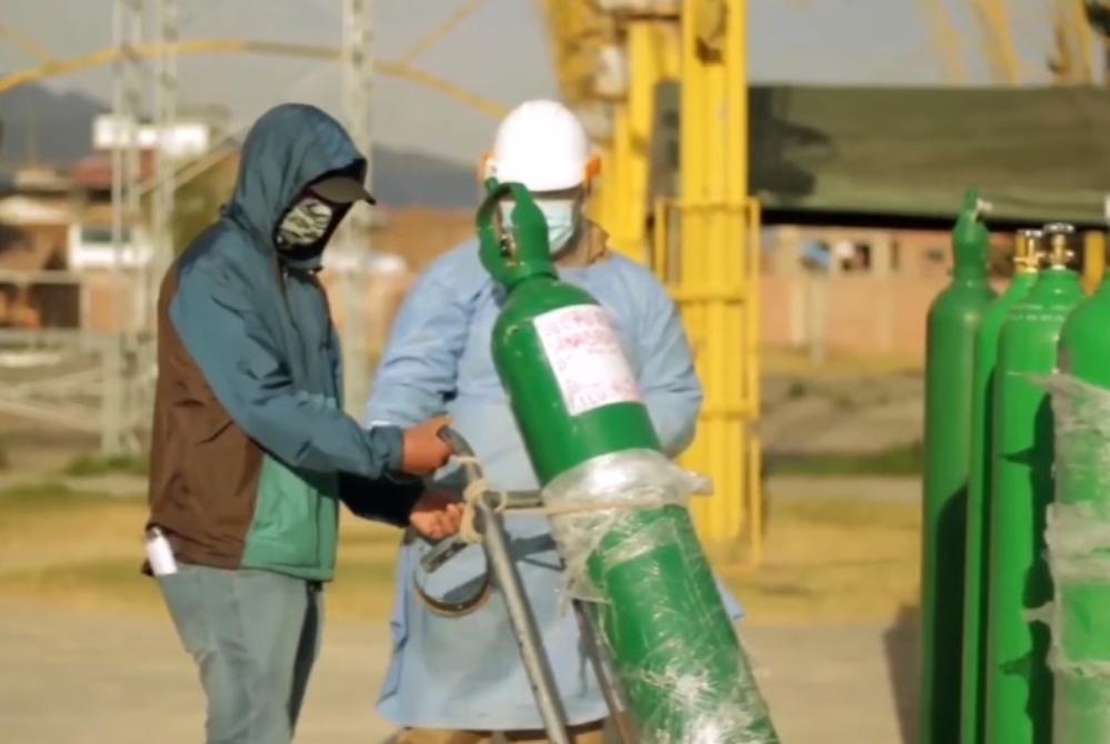 La producción de oxígeno podría agotarse en Cusco si siguen aumentando los casos graves de covid-19 perú