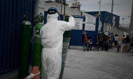 Perú no respira: falta de oxígeno vuelve incontrolable el covid-19 en las regiones