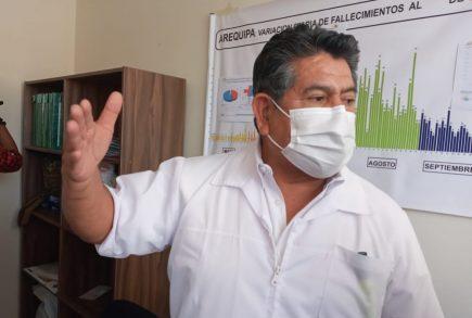 Arequipa: jefe del Comando Covid, Percy Miranda, renuncia por motivos de salud