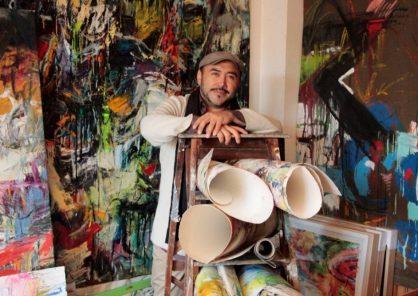 """Juan Carlos Zeballos expone """"Transmutaciones/Transmutación crepuscular"""" en París"""