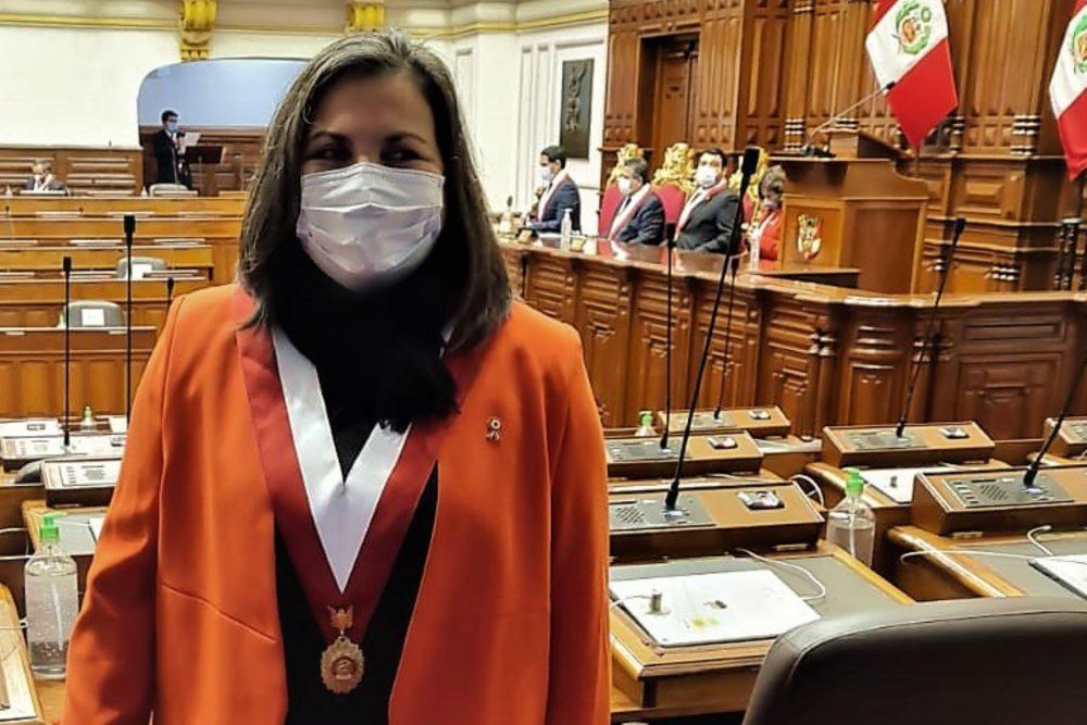 Congreso alista censura dice Rosí silva santisteban
