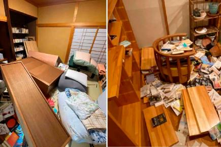 Terremoto de 7.1 en Japón deja impactantes imágenes (VIDEO)
