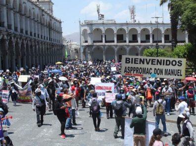 arequipa protestas diego arturo