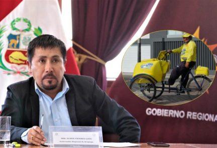 Gobernador de Arequipa exige permiso para traer vacuna rusa, que trasladaría en carritos de helado (VIDEO)
