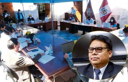 Arequipa: Consejo Regional aprueba remoción de gerente de Autodema