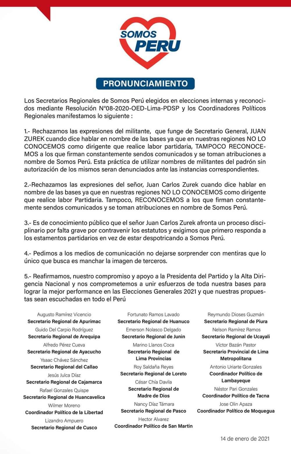 Martín Vizcarra y Daniel Salaverry en campaña para Elecciones 2021 por Somos Perú.