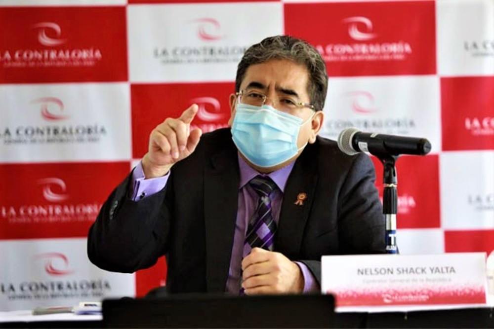 Titular de Contraloría indicó que detectaron 19 funcionarios públicos, que sus familiares fueron vacunados (covid-19), en caso Vacunas Vip.