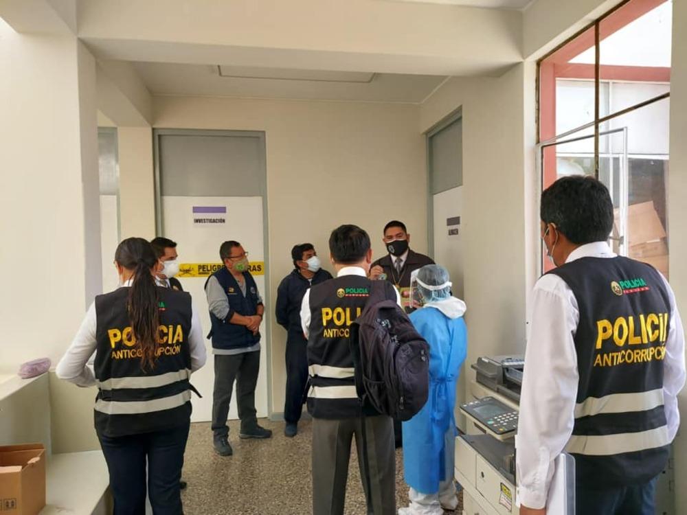 Presunto favorecimiento de vacunas covid-19 en Arequipa.