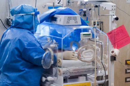 Arequipa: bebés contagiados con covid-19 llegan al hospital Honorio Delgado