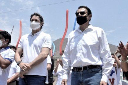 Somos Perú descarta divisiones por investigaciones contra Martín Vizcarra