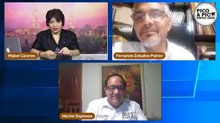 Pico a pico: debate de candidatos al Congreso por Arequipa: Fernando Zeballos y Héctor Espinoza