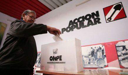 Elecciones 2021: polémico retorno de lista de Acción Popular en Arequipa