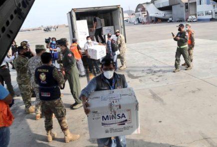 Más de 6 mil dosis de vacuna covid-19 llegan a Arequipa y así será la distribución