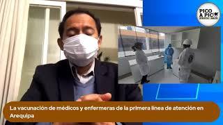 Pico a pico: #VacunaGate y sus implicancia en Arequipa