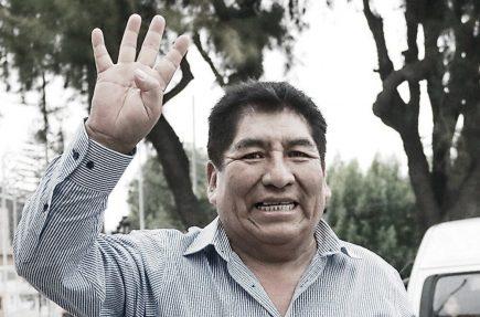 Arequipa: fallece congresista Hipólito Chaiña, tras contagiarse con covid-19