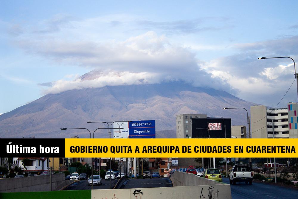 Arequipa cuarentena COVID en Peru