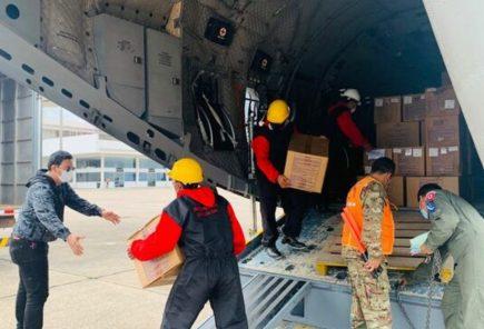 Arequipa y Puno reciben 37 toneladas de suministros para combatir la covid-19