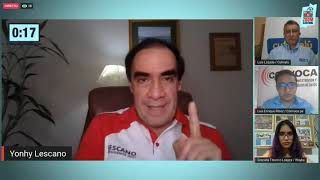 Elecciones 2021: entrevista al candidato Yohny Lescano en #ZoomElectoral