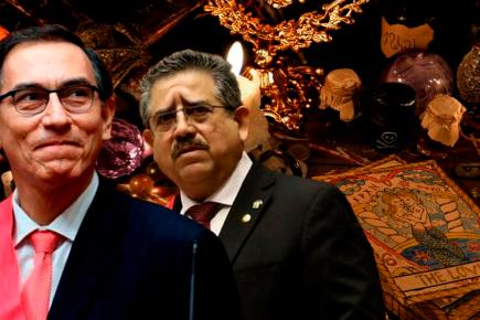 Manuel Merino acusa a Martín Vizcarra de brujería: «Encontré un gallinazo» (VIDEO)