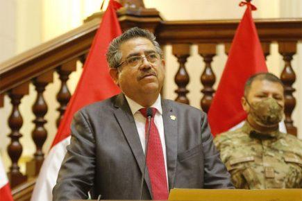 Chávez y Burga piden restituir a Manuel Merino en Mesa Directiva del Congreso