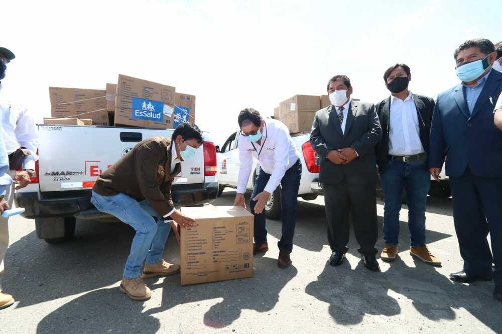 Ministro de Agricultura llega a Arequipa para ver avance en estrategia por covid-19