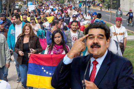 """Nicolás Maduro acusa al Perú de """"xenofobia"""" por políticas migratorias (VIDEO)"""
