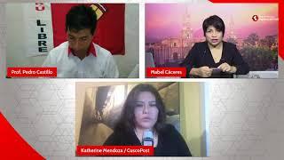 Elecciones 2021: entrevista a Pedro Castillo, candidato a la presidencia de la República