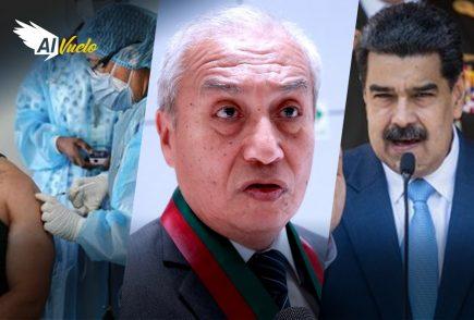 Pedro Chávarry: César Hinostroza en contra de destitución   |  Al Vuelo
