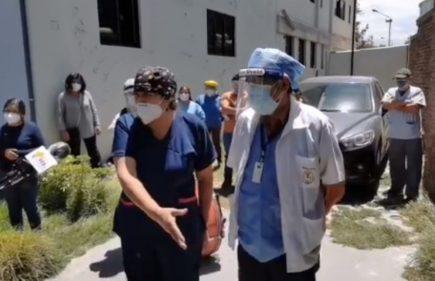 Arequipa: personal de Medicina Legal fuera de primer grupo de vacunas