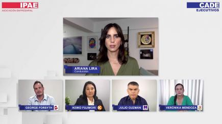 Elecciones 2021: debate entre Mendoza, Fujimori, Forsyth y Guzmán en CADE