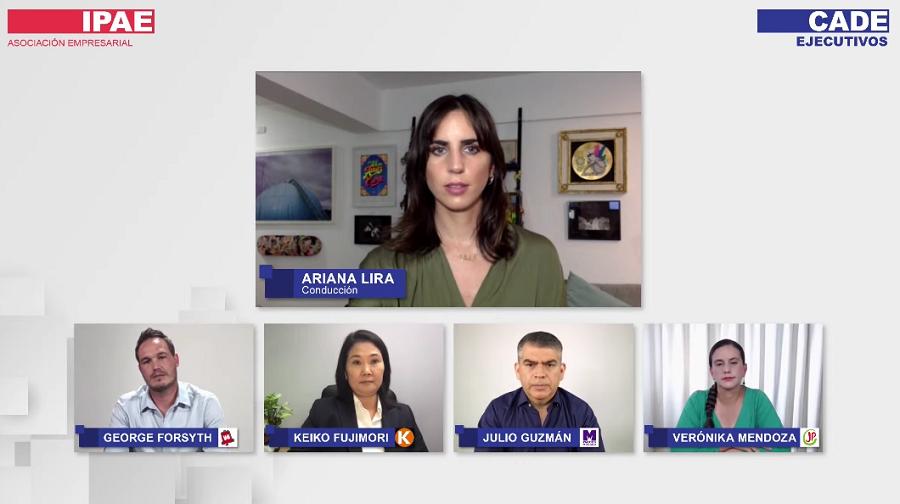 Mendoza, Forsyth Guzmán y Fujimori