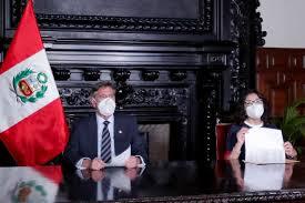 Presidente Sagasti se pronuncia sobre vacunación de Pilar Mazzetti